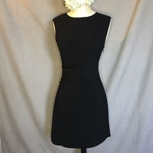 Perfect little black dress by Venus 4 w/ ruching